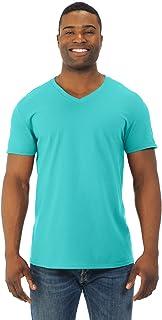 Mens Jersey V-Neck T-Shirt (SFVR)