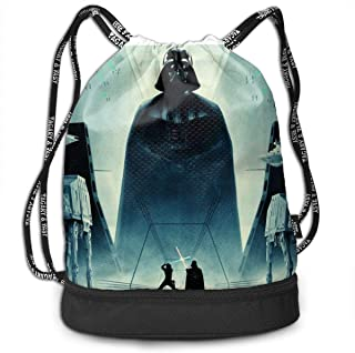Day of the Dead Teal Darth Vader Starwars Padded Drawstring Bag Pipe Pouch Sunglasses Case