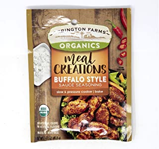 Orrington Farms Organics Meal Creations Seasoning Packets, Your Choice of 4 Different Varieties: 3-Pack (Buffalo Style)