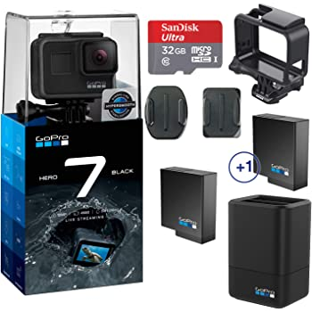 compatible with latest firmware updates Dual Battery Kit for GoPro Hero 7//6//5 Black cameras