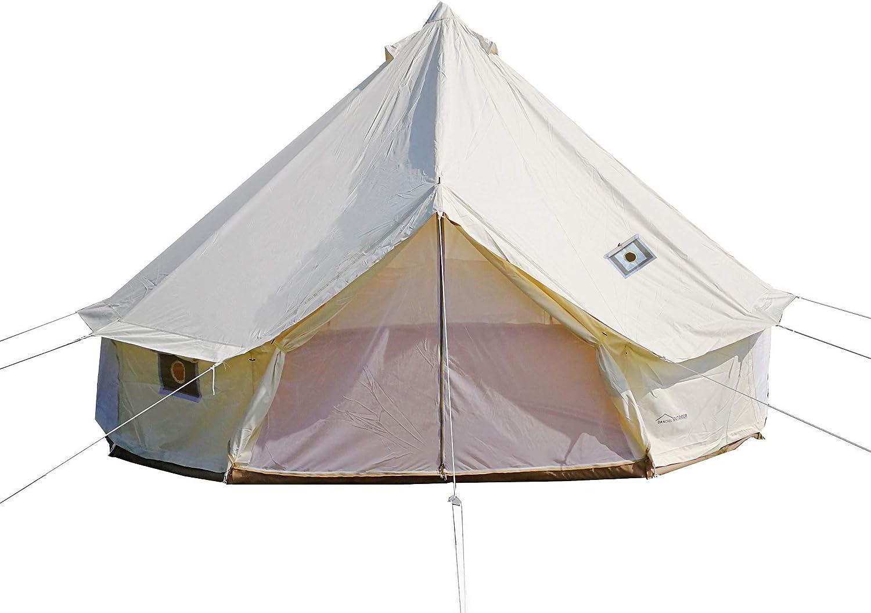 DANCHEL OUTDOOR 4 Genuine Max 43% OFF Season Yurt Bell Tent Fir with Jacks Two Stove