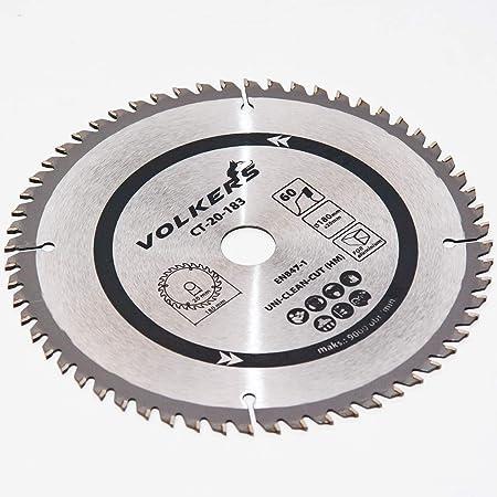 Kreissägeblatt HM Ø 190 x 20 mm 60 Zähne für Holz Alu