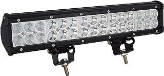 AUXTINGS 15 pulgadas 90W barra de luces LED punto de inundación de punto Combo Beam luces LED de trabajo a prueba de agua para Off Road ATV AWD SUV 4WD 4x4 Pickup