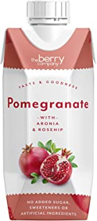 The Berry Company Pomegranate Juice Blend with Aronia & Rosehip, 330 ml