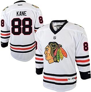 Reebok Patrick Kane Youth Jersey White #88 Chicago Blackhawks Youth Replica Jersey