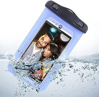 5 INCH Sumaclife Universal Waterproof Case for HTC EVO LTE, LG Optimus G, Samsung Galaxy Nexus, Blue