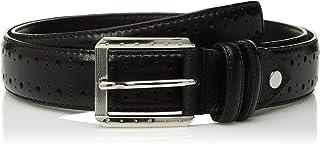 حزام ستاسي ادامز ميتالف 34 ملم من الجلد الطبيعي