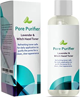 Witch Hazel Toner Alcohol Free Astringent with Aloe Vera and Lavender for Skin - Gently Cleanse Skin Refine Pores and Clea...
