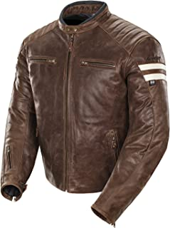 brown dainese leather jacket
