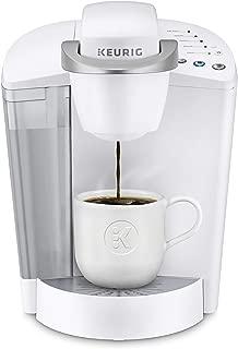 Keurig K-Classic Coffee Maker, Single Serve K-Cup Pod Coffee Brewer, 6 to 10 oz. Brew Sizes, White