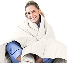 Luna Adult Weighted Blanket | Individual Use - 15 lbs - 48x72 - Twin / Full Size Bed | 100% Oeko-Tex Certified Cooling Cot...