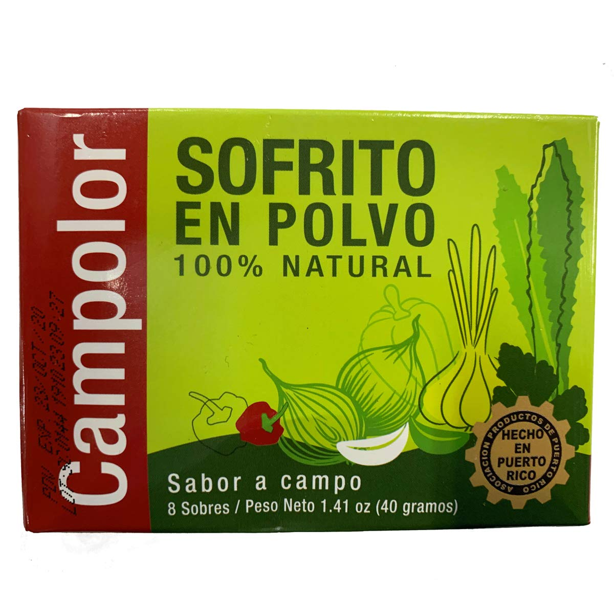 Campolor Sofrito Attention brand en Polvo Pack 2 Popular brand
