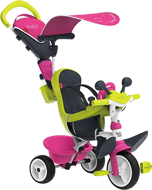 Triciclo smoby baby driver confort girl 10 mesi 7600741201