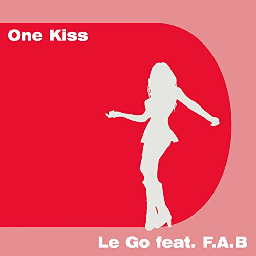 One Kiss (Acoustic Karaoke Instrumental) by Le Go feat  F A B on