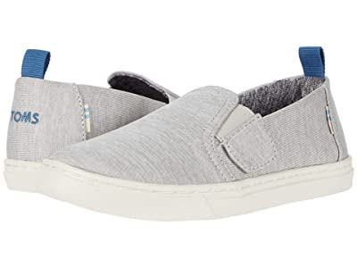 TOMS Kids Luca (Toddler/Little Kid) (Drizzle Grey Repreve Melange Knit) Kid