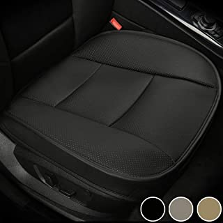 Schwarz-Rot Leaftree Gm Autositzkissen,Sitzschutzkissen Komfortables rutschfestes Kissen Autositzbezug-Set f/ürs Auto mit Tasche