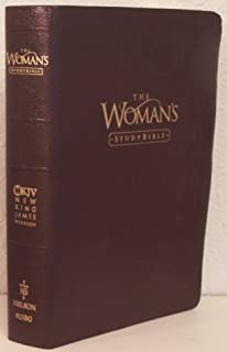The Woman's Study Bible NKJV 925BG (Burgundy Bonded Leather) (New King James Version)