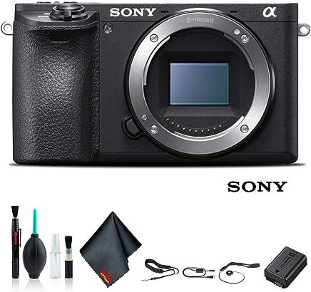 $981 » Sony Alpha a6500 Mirrorless Camera ILCE6500/B Starter Kit