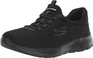 Skechers SUMMITS, Women's Low-Top Sneaker, Black (Black), 6 UK (39 EU)
