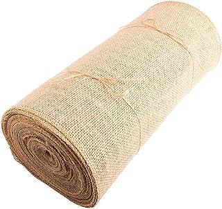 "12"" Wide X 10 Yards Long Burlap RollBurlap Table Runners - Burlap Fabric Rolls"