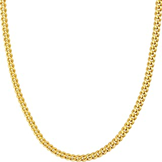 Best 24k gold chains for guys Reviews