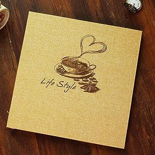 Toim Retro Lino álbum de fotos de bricolaje álbum de fotos de aniversario álbum de álbumes