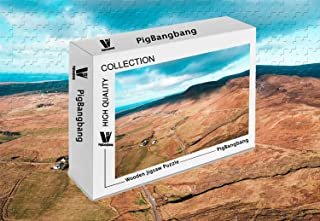 PigBangbang,Intellective Games Basswood Colorful- Aerial Photo of A Field - 1500 Piece Jigsaw Puzzle (34.4 X 22.6'')