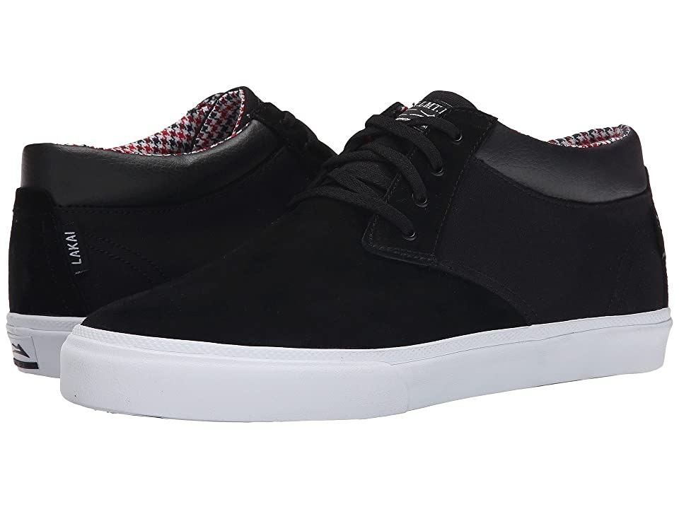 Lakai MJ Mid (Black Suede) Men