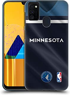 Official NBA Road Jersey 2018/19 Minnesota Timberwolves Hard Back Case Compatible for Samsung Galaxy M30s (2019)