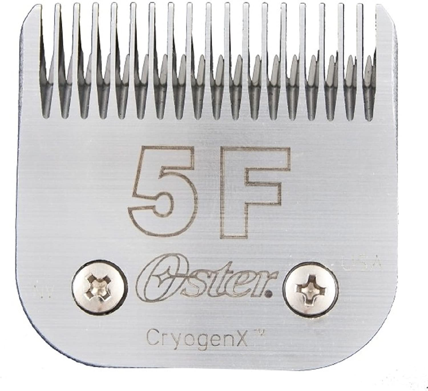 Oster Elite CryogenX Professional Animal Clipper Blade, Size 5F (078919606005)