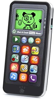 LeapFrog Chat and Count Emoji Phone, Black