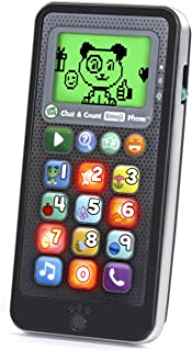 LeapFrog Chat and Count Emoji Phone Black