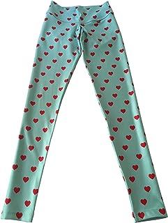 FITMAMA Mini-Hearts Printed Legging