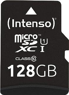 Intenso Micro SDXC 128GB Class 10 Speicherkarte inklusiv SD Adapter (UHS I)