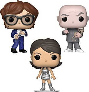 Funko Movies: Pop! Austin Powers Collectors Set - Dr. Evil, Austin Powers, Vanessa Kensington Toy