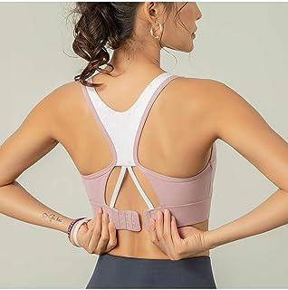 Cross-Back Sports Bra Crop Running Fitness Shirts Yoga Bras Gym Shirts Sports Top Active Wear Women Push Up Brassiere Spor...