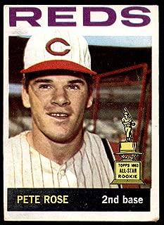 Baseball MLB 1964 Topps #125 Pete Rose UER VG-EX Reds