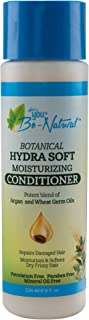 Luster's You Be-Natural Botanical Hydra Soft Moisturizing Conditioner. Potent Blend of Argan and Wheat Germ Oils.