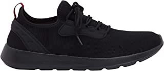 Shoexpress Men's Textured Running Shoes with Lace-Up Closure