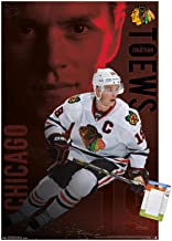 Trends International NHL Chicago Blackhawks-Jonathan Toews Premium Mount Bundle Wall Poster, 14.725