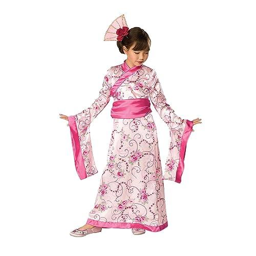 6e35d94f16 Let s Pretend Child s Asian Princess Pink Kimono Costume