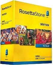 Rosetta Stone German Level 1-5 Set - includes 12-month Mobile/Studio/Gaming Access
