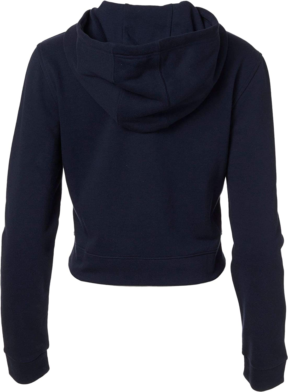 adidas Cropped French Terry Sweat à Capuche pour Femme Encre Légende
