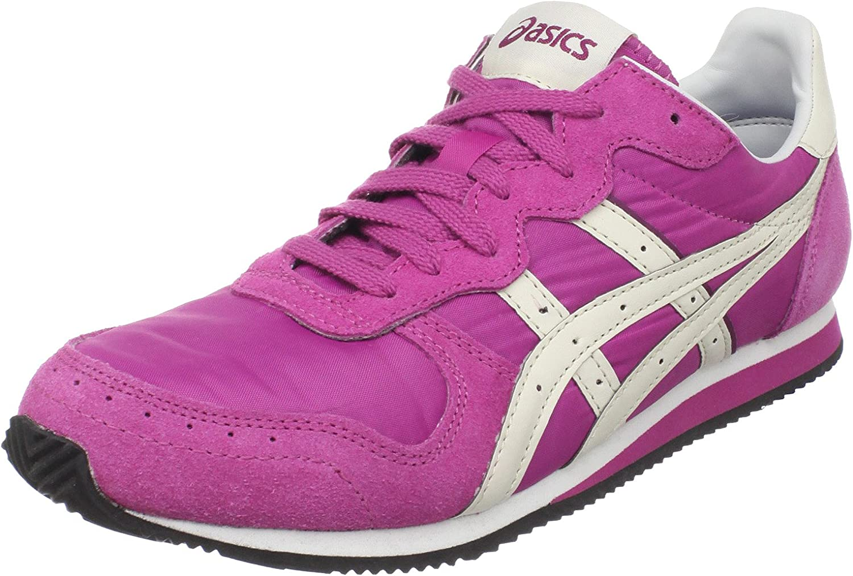 ASICS Women's Corrido Sport Style Sneaker bluee Pink