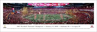 Alabama - 2017 College Football Champions - College Posters, Framed Pictures and Wall Decor by Blakeway Panoramas