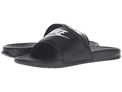 Nike Benassi JDI Slide (Black/White) Men