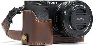 MegaGear MG961 Estuche para cámara fotográfica - Funda (Funda Sony Alpha A6300 Alpha A6000 Marrón)