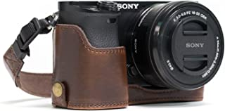 Ever Ready Leather Camera Half Case Compatible with Sony Alpha A6300, A6000