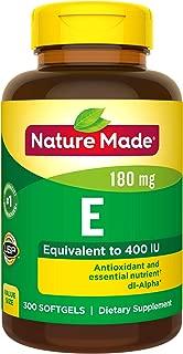 Best vitamin e nature e Reviews