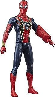 Avengers Marvel Titan Hero Series Iron Spider 12-Inch-Scale Super Hero Action Figure with Titan Hero Power FX Port